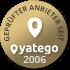 Geprüfter Yatego Händler seit 2006