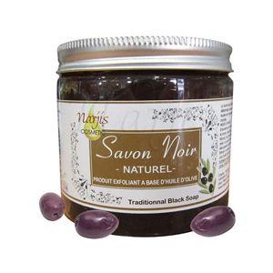 Savon noir (schwarze Olivenseife)