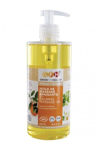 Massage- und Hautöl, beruhigend, Bio