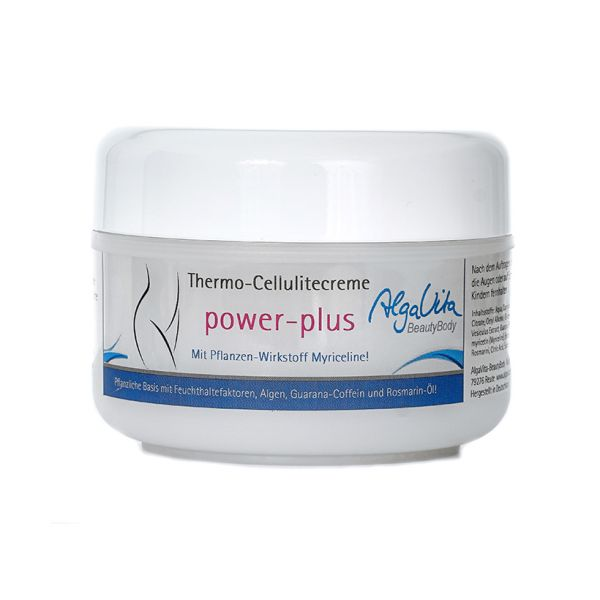 Thermo-Cellulitecreme power-plus, Anticellulite-Creme