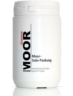 Moor-Sole-Packung