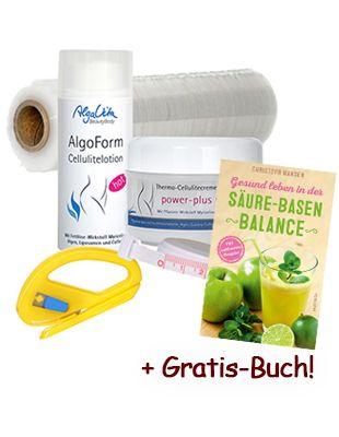 Bodywrap Wickelkur mit Gratisbuch Säure-Basen-Balance