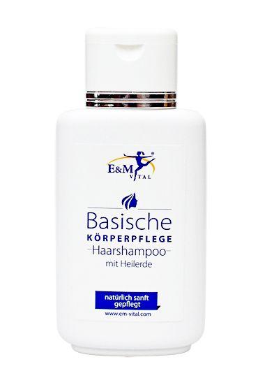 Basisches Haarshampoo, Heilerde, Tonerde