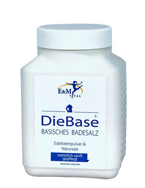 Basen-Bad, basisches Badesalz