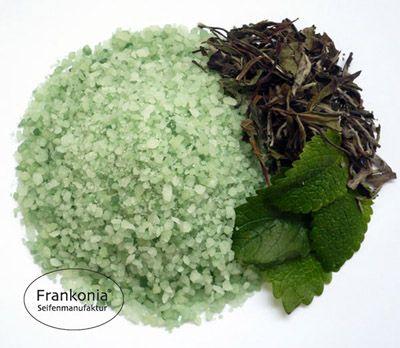 Grüner-Tee Meersalzbad