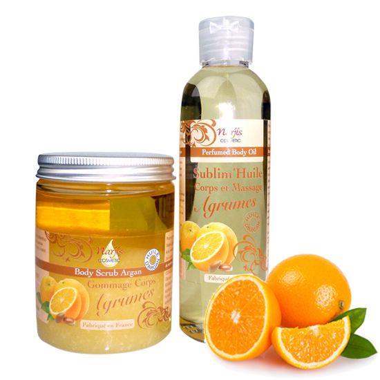 Argan-Öl-Citrus-Pflegeset, Argan Hautöl