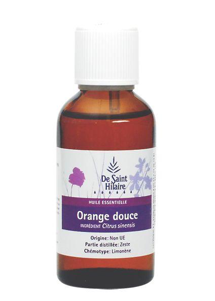 Orangen-Öl pur, Bio, Stimmungsaufheller