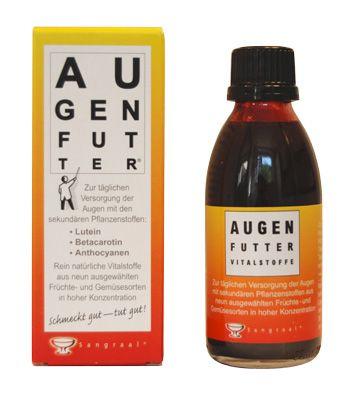 Augenfutter, Vitalstoffe für die Augen