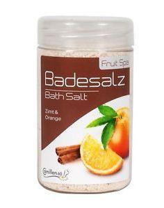Badesalz zimt-orange