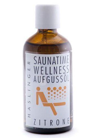 Sauna-Öl Zitrone, Sauna-Aufguss
