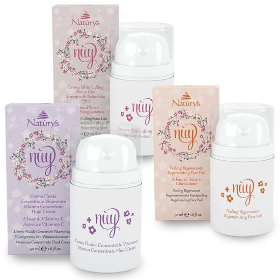 Nuy-Antiage Vitamin-Set, Bio, Antiaging Pflegeset
