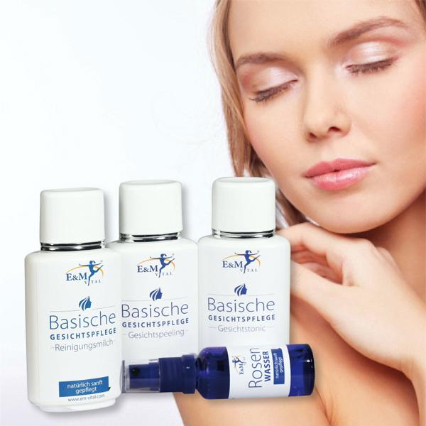 Basisch gesund mit basischer Körperpflege und basisches Müsli.