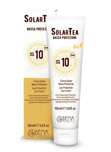 SolarTea Sonnencreme SPF 10, Bio