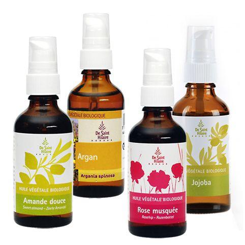 Haut-Öle-Set plus Gratis Argan-Öl, Bio