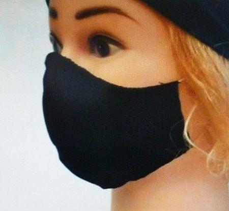 Einfache Baumwollmaske