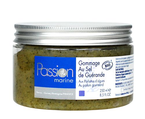 Gommage au Sel, Algen-Meersalz-Peeling, Bio