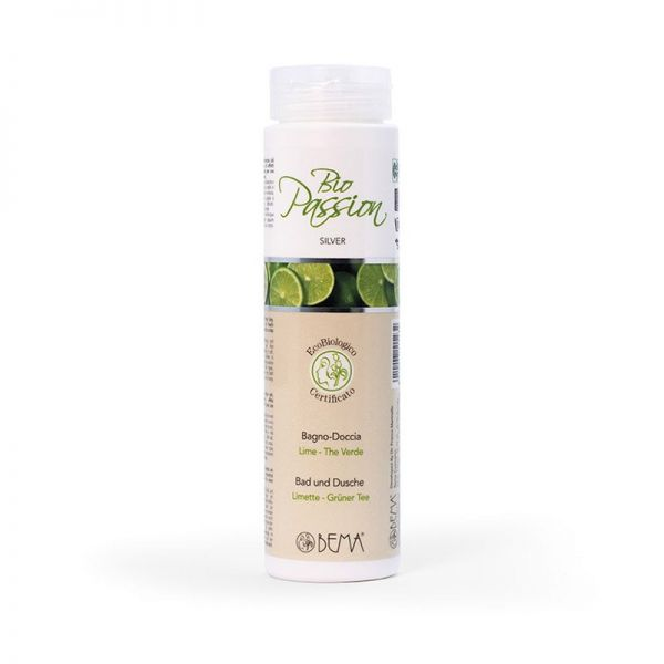 Duschgel Limette-grüner Tee, Bio