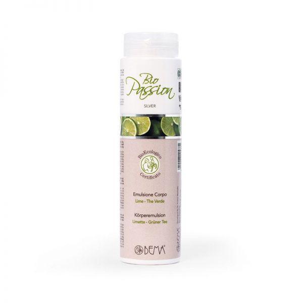 Bodylotion Limette-grüner Tee, Bio