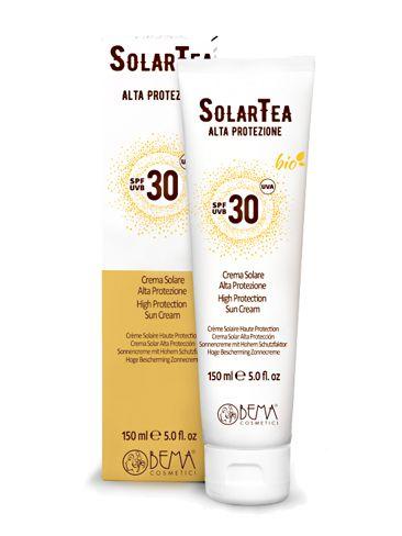 SolarTea Sonnencreme Körper SPF 30, Bio