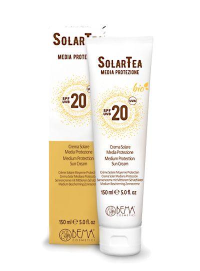 SolarTea AntiAge-Sonnenschutz SPF 20, Bio