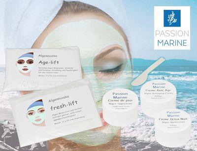 Algenkosmetik-Gesichtspflege, Musterset