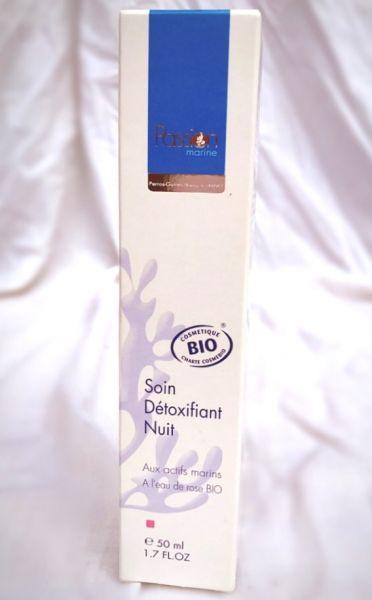 Algen-Nachtcreme Detox, Bio