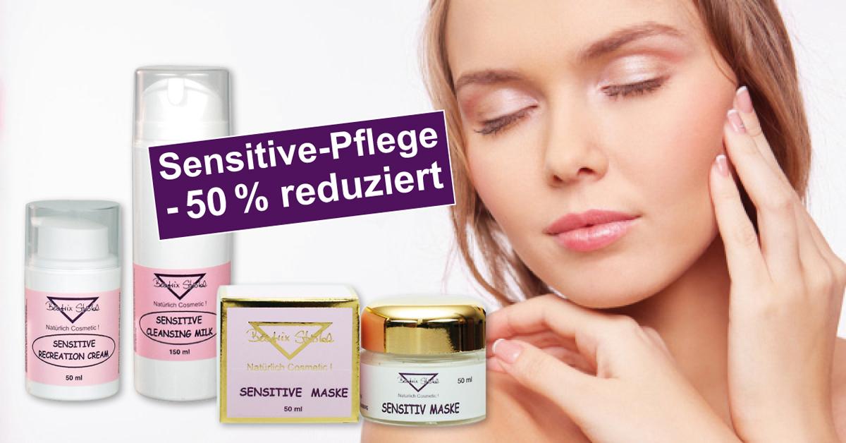 30-50 % auf Pflege für die empfindliche Haut!
