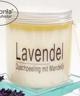 Lavendel-Salz-Ölpeeling, Duschpeeling